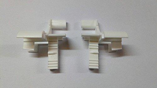 Rolladen Einlauftrichter- Vorbaurollladen- Trichter - f. FS 53mmx22mm Rollo weiss