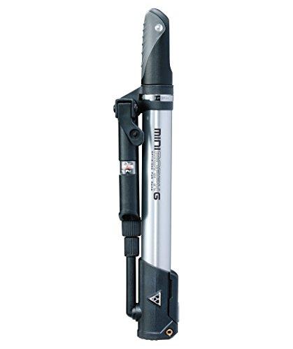 Topeak Mini Morph Floor Pump with gauge Silver