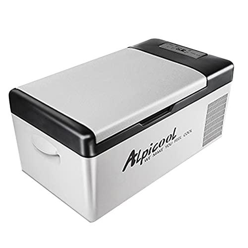 ADGH Refrigerador Portátil del Congelador 15L Compresor Automático del Refrigerador Refrigeración Rápida Caja De Hielo Casera De La Comida Campestre
