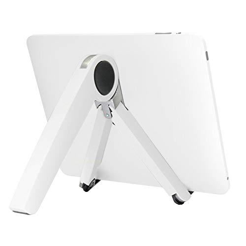 FENSHIX Tablet PC Portátil de Escritorio Soporte de sobremesa de enfriamiento del Soporte (Color : White)