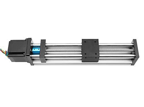Antrella 250mm Eficaz Stroke Etapa Lineal Actuador DIY CNC T8 x 2 con 42 Motor paso a paso, 17 NEMA Serie GPS Actuadores Lineales de Husillo de Bola mesa deslizante