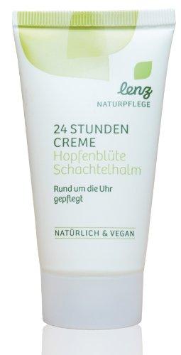 Lenz 24 Stunden Creme Hopfenblüte Schachtelhalm Vegan Naturpflege 50ml