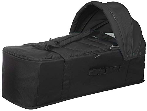 Playxtrem Baby Twin Cot - Capazo para Baby Twin, Color Negro