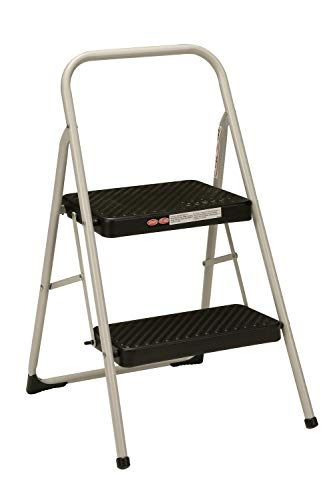 Cosco 2-Step Household Folding Step Stool (Renewed)