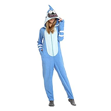 Regular Show Mordecai Union Suit Large