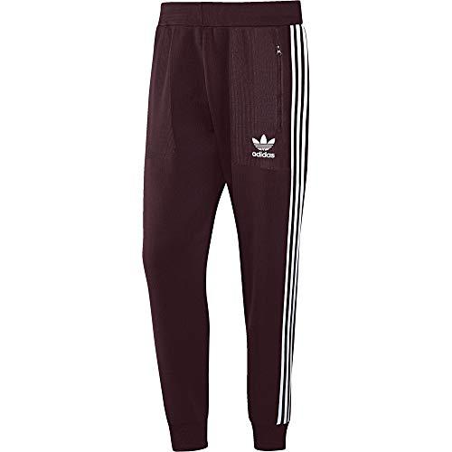 Adidas broek kunststof rood - - XL