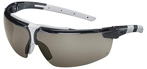 Uvex I-3 Schutzbrille - Supravision Excellence - Getönt/Schwarz-Grau