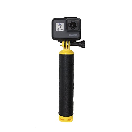 Vicdozia Waterproof Floating Hand Grip Tripod Mount Handle Pole Diving Stick Handheld Monopod Compatible with GoPro Hero7/6/5/4/3+/3/2/1/GoPro Session AKASO SJCAM Xiaomi Yi and More Sports Cameras
