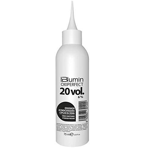 Blumin Oxiperfect 20 Volúmenes Oxigenada Acondicionadora En Crema, Blanco, 75 Mililitro