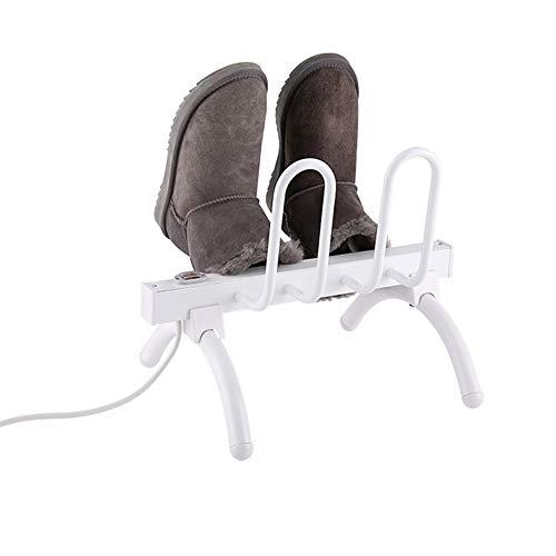 LVJUNQ 2 Pares de secador de Zapatos eléctricos montados en la Pared,Resistente al Desgaste y a la corrosión, Rendimiento Estable Respetuoso con el Medio Ambiente