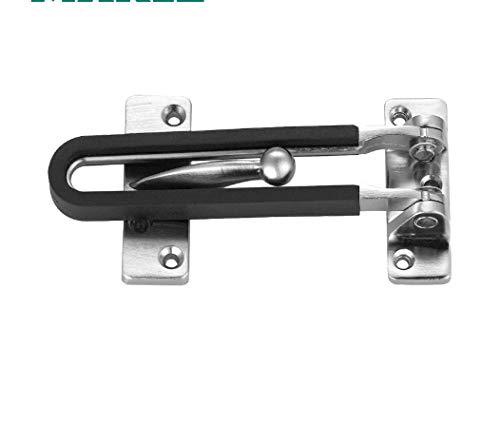 Solide en Acier Inoxydable Sécurité Hasp Latch Lock Staple Placard Armoire Porte 2pcs