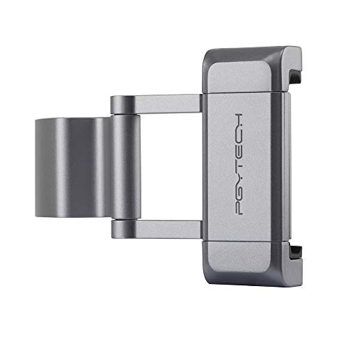 RC GearPro per DJI Osmo Pocket Supporto per Telefono palmare in Alluminio, Adattatore per Telefono Pieghevole per OSMO Pocket Gimbal Camera