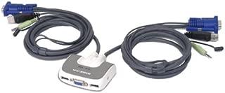 IOGEAR GCS632U 2 Port VGA USB Compact KVM Switch