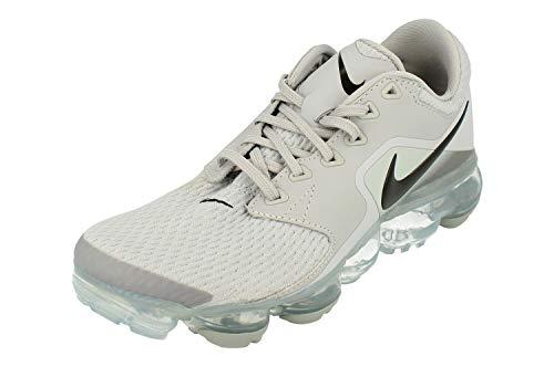 Nike Air Vapormax BG, Chaussures de Running Compétition garçon, Multicolore (Wolf Grey/Black/Cool Grey 002), 38 EU