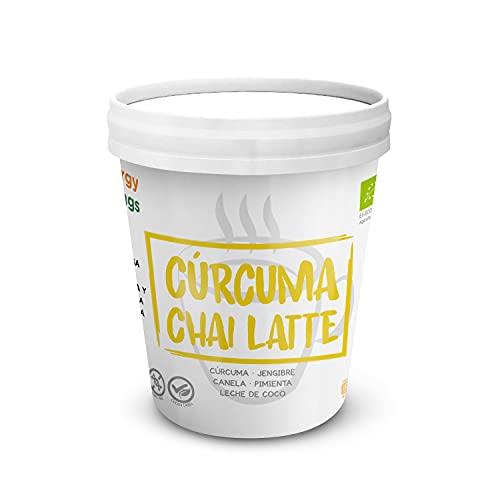 Energy Feelings Cúrcuma Chai Latte Ecológico - 250 g