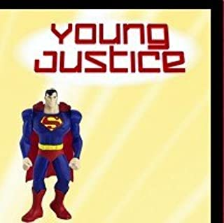 Happy Meal Young Justice Superman Toy Figure #4 2011 by DC Comics