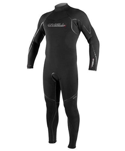 O'Neill Men's Dive Sector 7mm Back Zip Full Wetsuit, Black, Large Tall