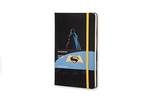 Moleskine Batman vs Superman Limited Edition Notebook, Large, Ruled, Black, Batman, Hard Cover (8055002851527)