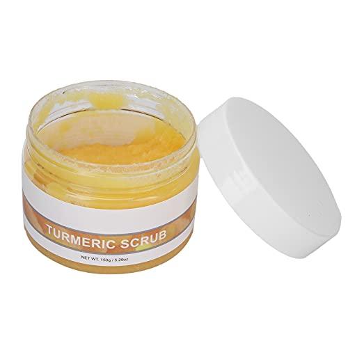 Crema Exfoliante De Cúrcuma, Limpia La Piel Exfoliante Exfoliante Para El Cuello Y La Cara