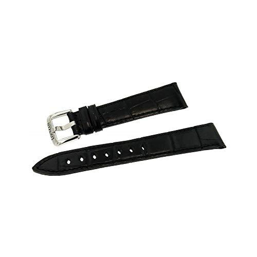 Armband 1960 Kalbsleder für Herren Schwarz