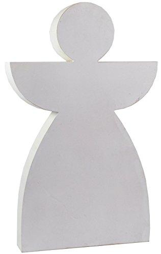 Gros bois silhouette schattenbild figurine ange 80 cm figurine décorative en forme d'ange