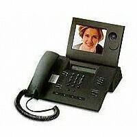 Telekom T-View 100 grau Bildtelefon Komfort ISDN LCD Freisprecheinrichtung