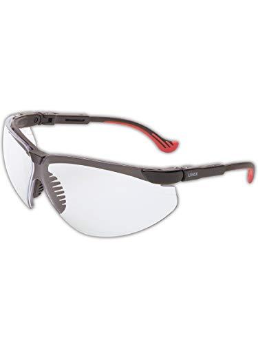 Uvex de Honeywell S3300X Génesis Xc gafas, lentes de policarbonato transparente, marco negro