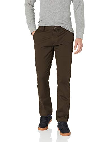 Volcom Herren Frickin Modern Fit Stretch Chino Hose, Dark Chocolate, 46W x 32L