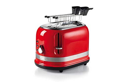 tostapane kenwood Ariete 149 Rosso Tostapane 2 fette Moderna con pinze