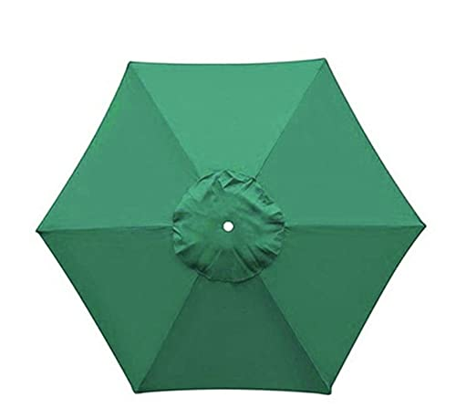 YXIUER 2M Outdoor Paraguas Reemplazo Patio Cantilever Parasol para Patio Piscina Playa Playa Impermeable Garden Sun Shelter (Color : Beige)