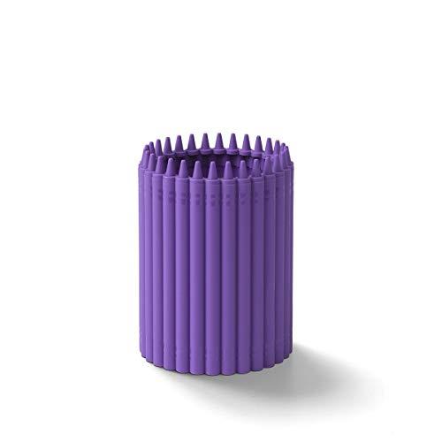 Crayola Pencil Cup, Violet (Purple)