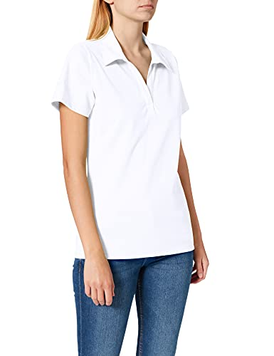 Trigema Damen 521612 Poloshirt, Weiß (Weiß 001), L