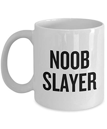 Video Gamer Regalo Juego Café Taza Videojuegos Geek Presente Gaming Nerd Noob Slayer