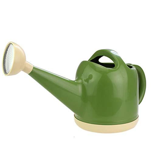 CREAM2ATE, WATERING CAN GCX- Regadera de 4 l para jardinería, regadera de plástico, Color Verde
