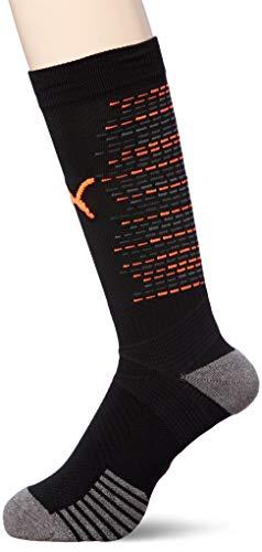 PUMA Herren Team ftblNXT Socks Stutzen, Black-Shocking Orange, 2