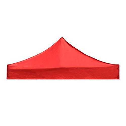 MHYNLMW Tenda di Ricambio 3x4.5m a baldacchino da Esterno UV. Copertura Impermeabile da ombrellone Gazebo (Color : Red)