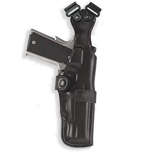 Galco Vertical Shoulder Holster, No Harness - Ambidextrous, Black,...