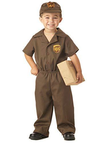 Little Boys' UPS Guy Costume Large (4-6)