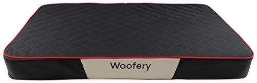 Woofery - Hundematte Russel - schmutzabweisend Cordura - L 100 x 67 cm Schwarz