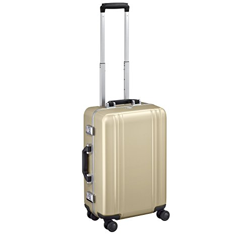 Great Features Of Zero Halliburton Classic Polycarbonate 2.0-22 4-Wheel Travel Case, Gold, One Size