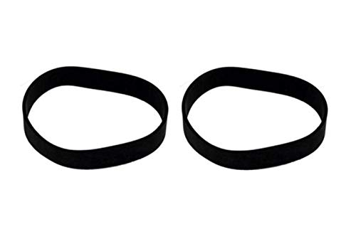 (2) Vacuum Belts fits for Black and Decker Air Swivel Vacuum Cleaner Belt BDASV101 BDASV104 BDASL102