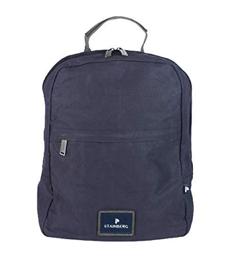 Rucksack aus gewachstem Canvas - Urban Backpack - Freizeitrucksack - Stainberg - 10l - Navy