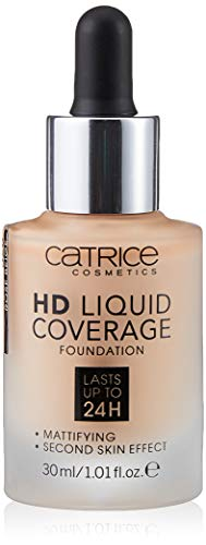 Catrice Make-up HD Liquid Coverage Foundation Rose Beige 20 1er Pack(1 x 150 grams)
