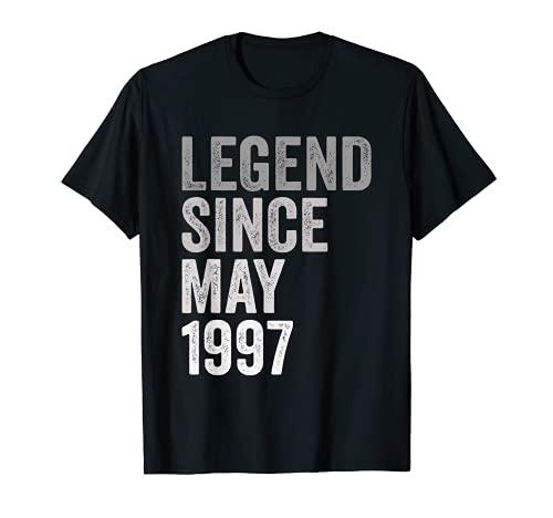 Leyenda Desde Mayo de 1997 Año de Cumpleaños Camiseta