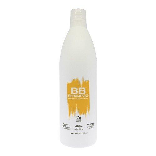 BB Hair Care - Shampoo Argan - Prodotto Professionale con Olio di Argan Ideale per Capelli Secchi e Danneggiati - Previene Rotture e Doppie Punte - 1 L