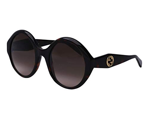 Gucci Occhiali da sole GG0797S 002 occhiali Donna colore Havana lente marrone taglia 54 mm