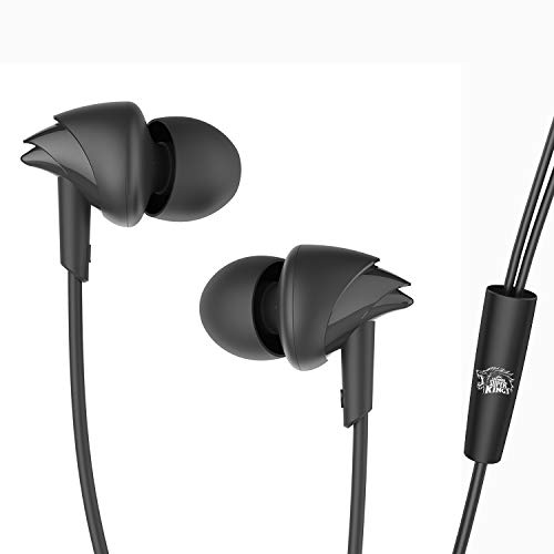 boAt BassHeads 100 Chennai Super Kings Edition in-Ear Wired Earphones with Super Extra Bass, in-line Mic, Hawk Inspired Design and...