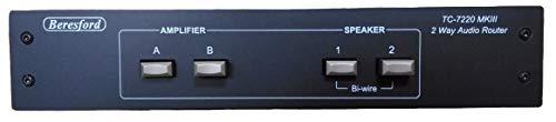 Beresford TC-7220 MKII Amplificatore stereo e router altoparlante, Nero