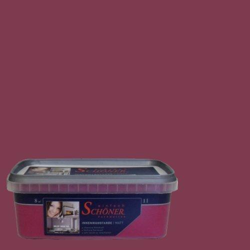 Wilckens Wandfarbe einfach Schöner Farbwelten, 1 L, Himml. bordeaux 13740226060