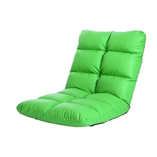 JJZXDe Doble Capa de Esponja sofá Perezoso con Ajustable de Seis Marchas, Cuero, Resistente al Agua y fácil de Manejar